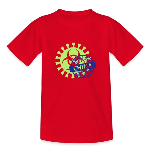 Corona Virus COVID-19 Biohazard Made In China - Teenager T-Shirt