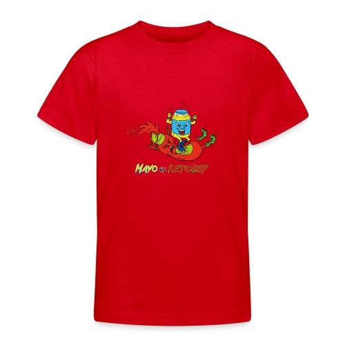 Mayo VS Ketchup - Maglietta per ragazzi