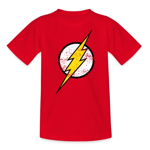 DC Comics Justice League Flash Logo - Teenager T-Shirt