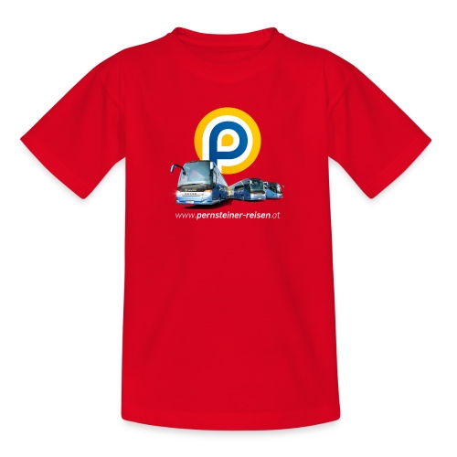 p busse internet weiss - Teenager T-Shirt