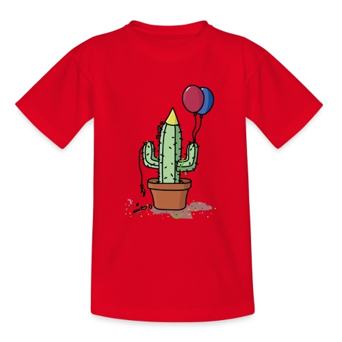 Flowercontest cactus party - Teenager T-shirt