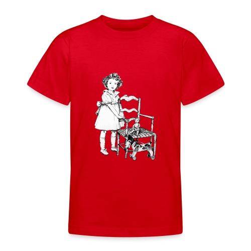 Nelly et sa chaise - T-shirt Ado