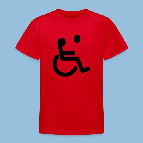 Baloonwheelchair2 - Teenager T-shirt