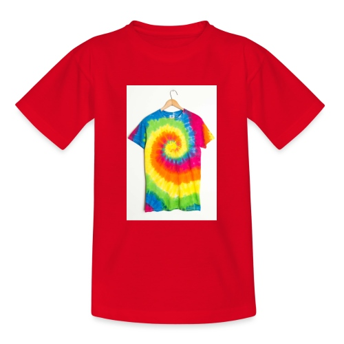 tie die small merch - Teenage T-Shirt