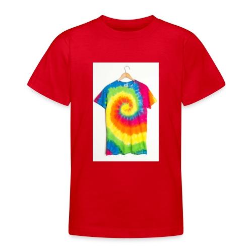 tie die small merch - Teenage T-Shirt