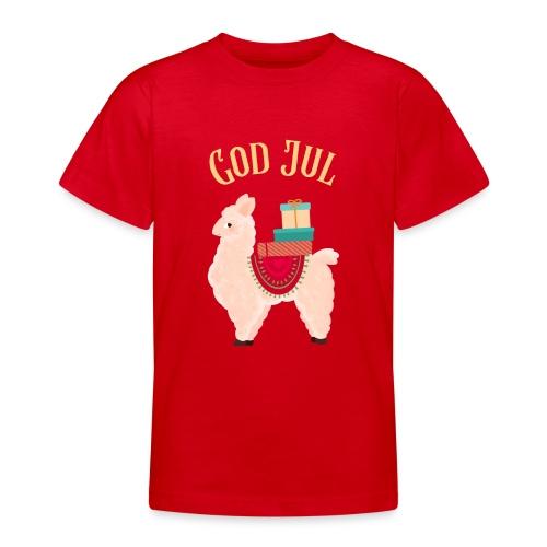 God jul - T-skjorte for tenåringer
