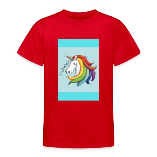 Unicorns Are Fabulous - Teenage T-Shirt