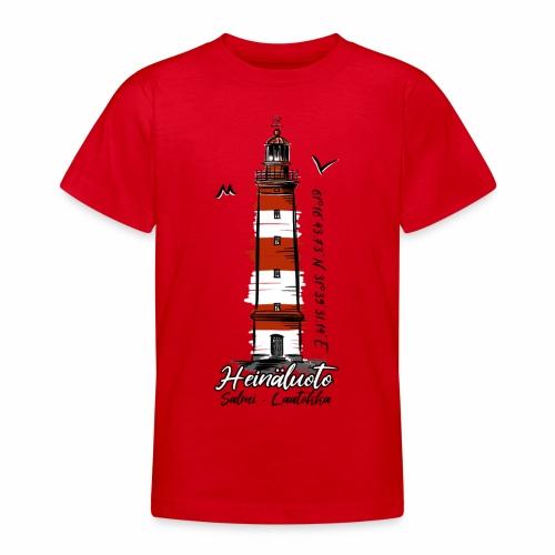 Old Finnish Lighthouse HEINÄLUOTO Textiles, Gifts - Nuorten t-paita