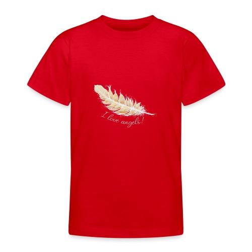 EngelFeder Love - Teenager T-Shirt