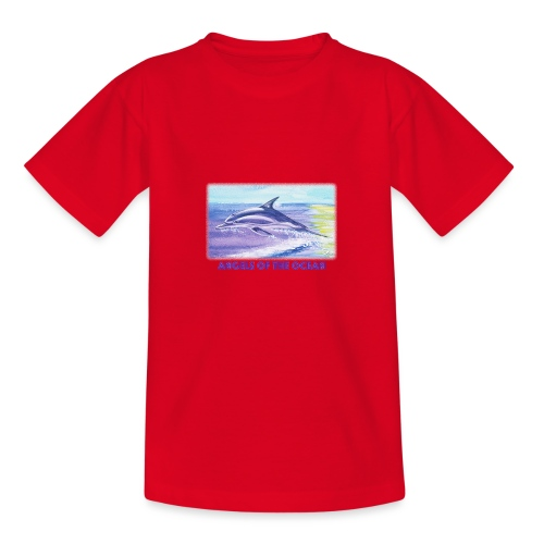 Angels of the Ocean - Teenager T-Shirt