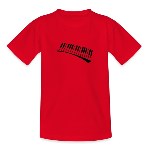 Piano - Camiseta adolescente