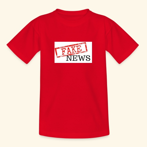 fake news - Teenage T-Shirt