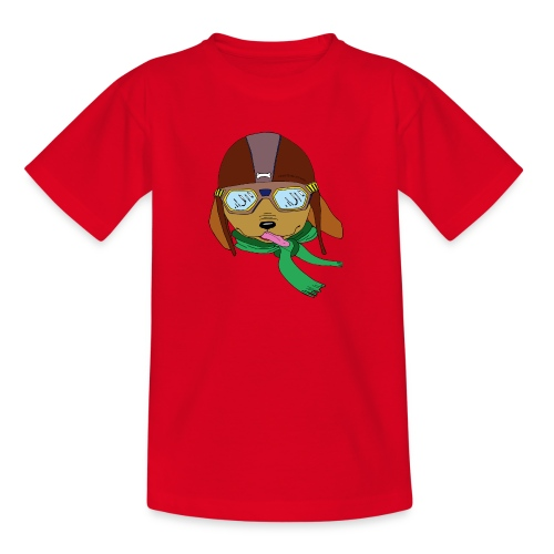 Falc le chien aviateur - T-shirt Ado