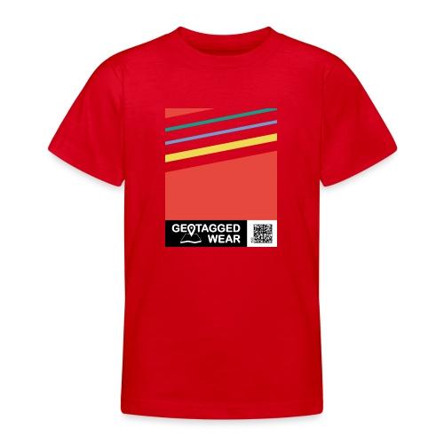 Unisex Stripes Pantone Colored - Teenager T-Shirt