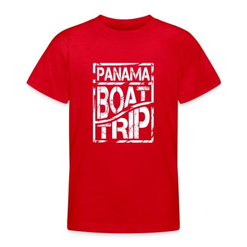 Panama Boat Trip - Teenager T-Shirt