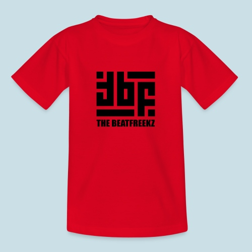 the beatfreekz logo 3 black - Teenage T-Shirt