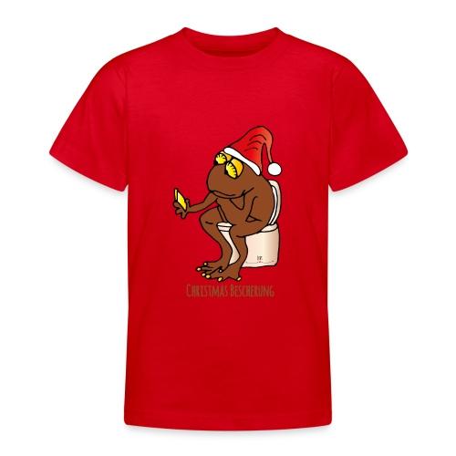 Christmas Bescherung - Teenager T-Shirt