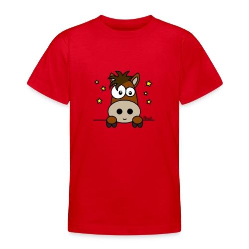 Poney, Pony Club, Sport, Équitation - T-shirt Ado