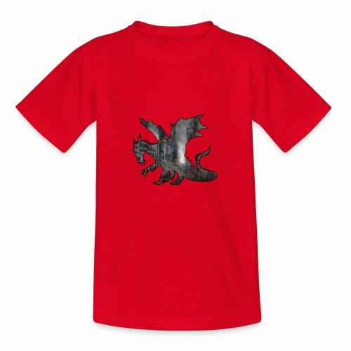Le Dragon destructeur - J'peux pas j'ai Dragon - T-shirt Ado