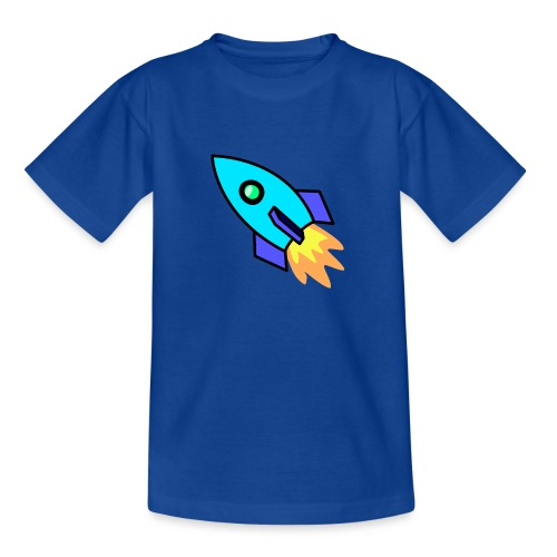 Blue rocket - Teenage T-Shirt