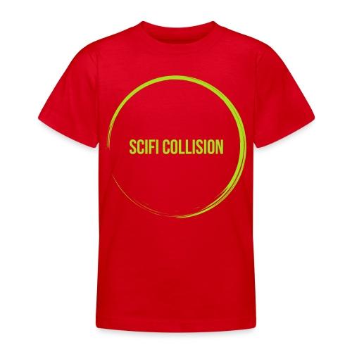 Lime Green SC Logo - Teenage T-Shirt