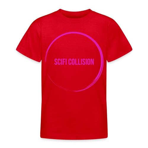 Pink Logo - Teenage T-Shirt