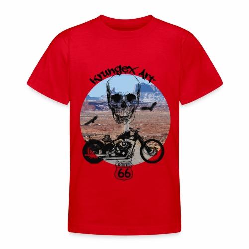 Skull Route - Maglietta per ragazzi