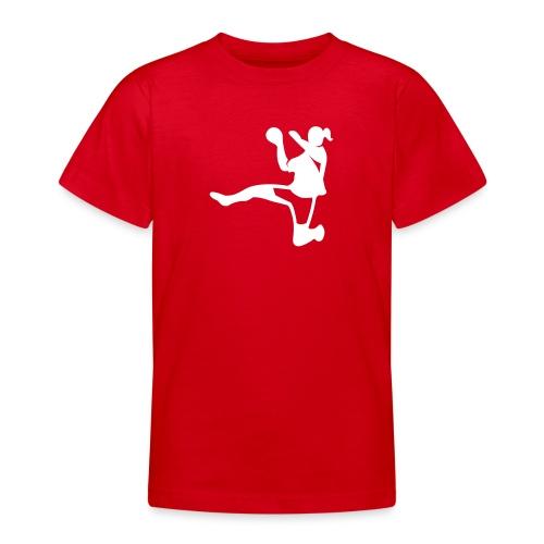 Handballerin - Teenager T-Shirt