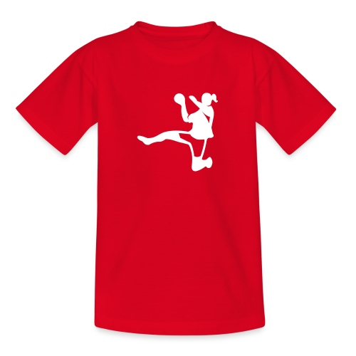 Handballerin - Teenager T-Shirt