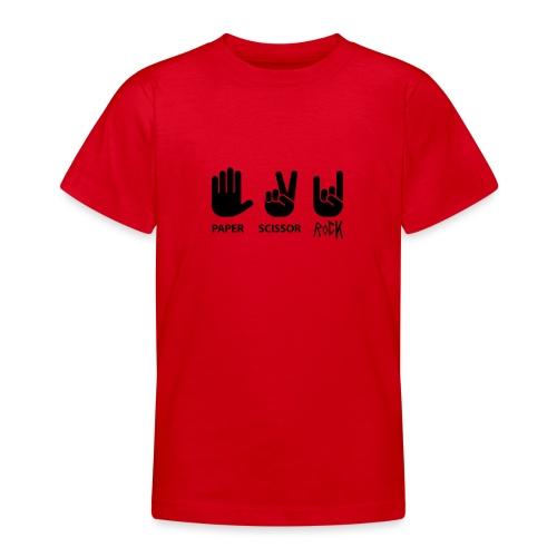 ciseaux de roche papier - T-shirt Ado