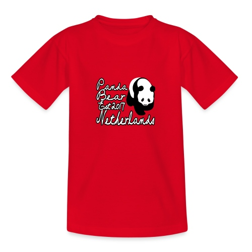 Panda's Rhenen - Teenager T-shirt