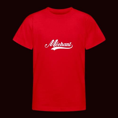 mechant_logo_white - T-shirt Ado