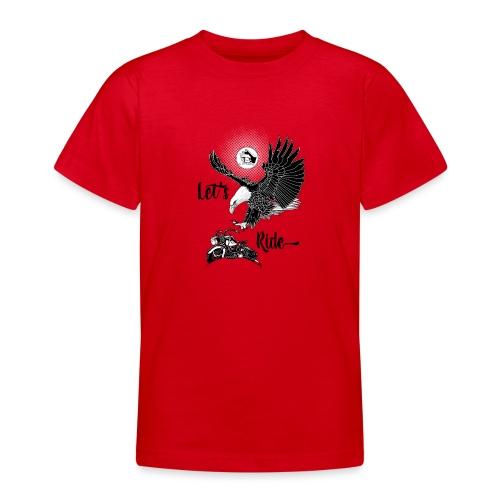 Baldeagle met een panhead - Teenager T-shirt