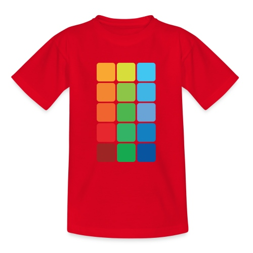 Square color - Teenage T-Shirt