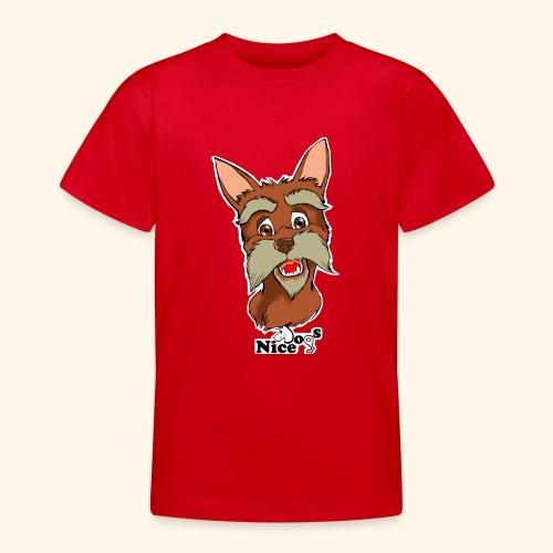 Nice Dogs schnauzer - Maglietta per ragazzi