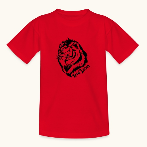 Irie Lion - Lion Rastafari - T-shirt Ado