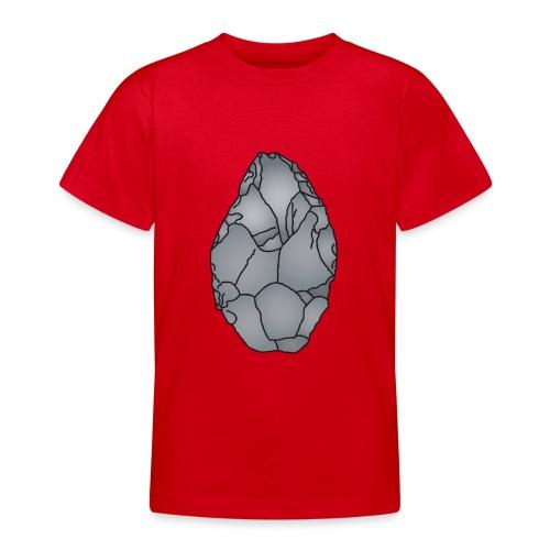 Faustkeil Steinzeit c - Teenager T-Shirt