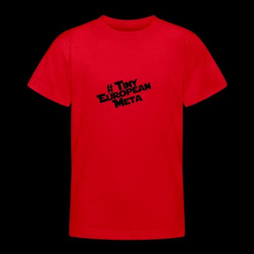 TEM Black - Teenage T-Shirt