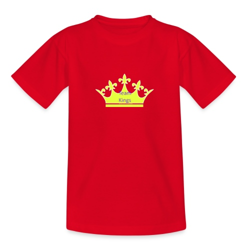 Team King Crown - Teenage T-Shirt