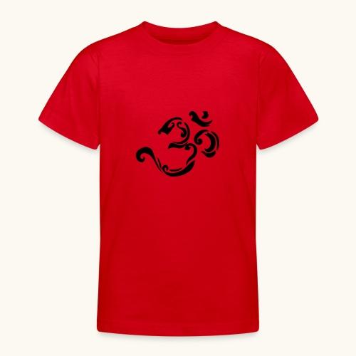 Design Tribal Om hindouisme symbole spirituel - T-shirt Ado