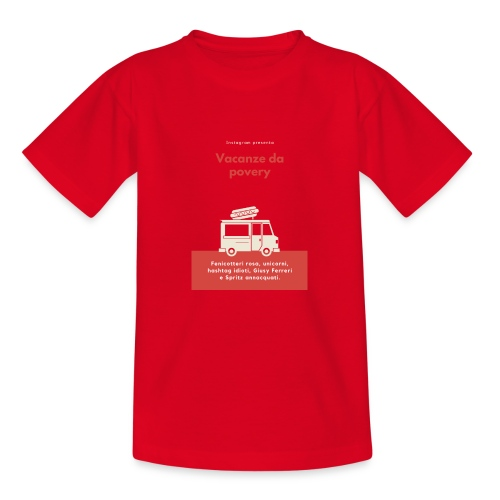 Povery - Maglietta per ragazzi