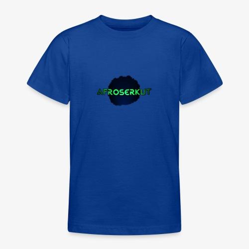 AfroSerkut LOGO - Nuorten t-paita