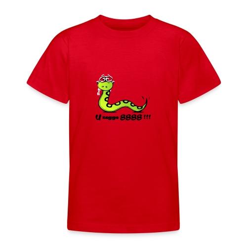 U zegge SSSS !!! - Teenager T-shirt