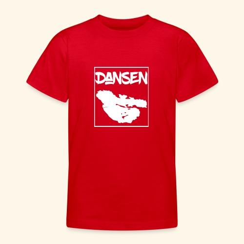 DansenKartaVit - T-shirt tonåring