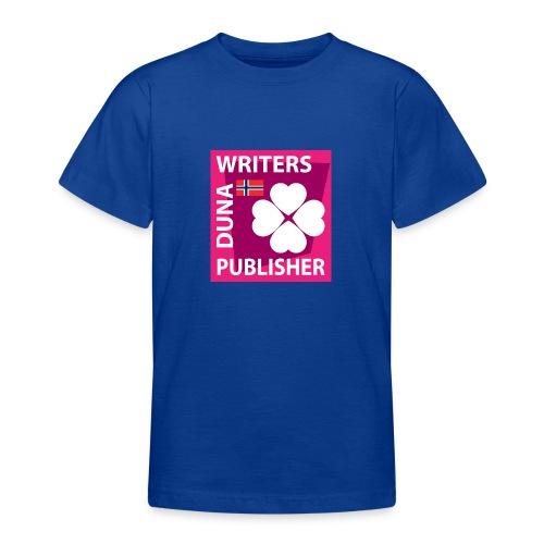 Duna Writers Publisher Pink - T-skjorte for tenåringer