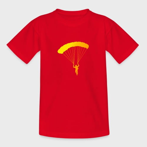 Colorfull Skydiver - Teenager T-Shirt