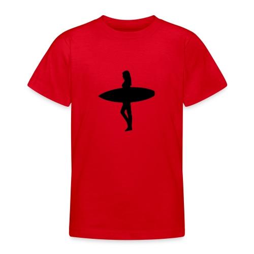 Surfergirl - Teenager T-Shirt