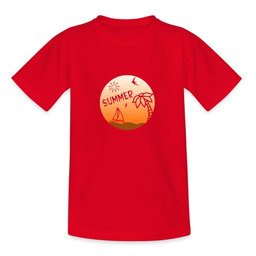 Summer - Nuorten t-paita