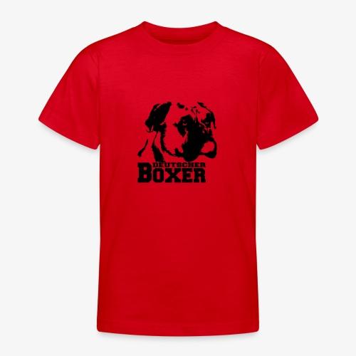 Deutscher Boxer - Teenager T-Shirt