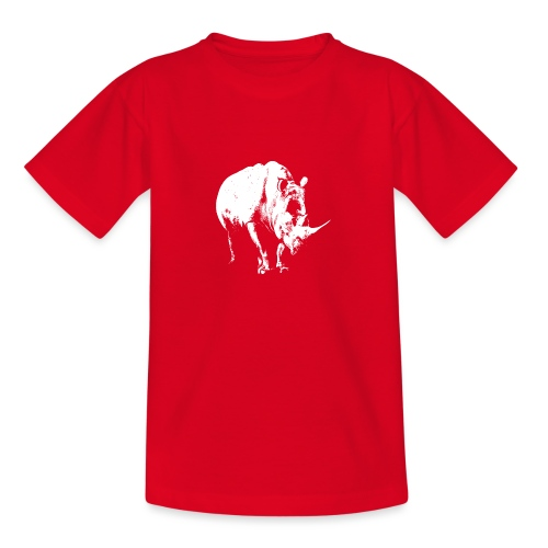 White Rhinoceros (highlights only) - Teenage T-Shirt